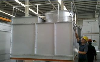 China Closed Loop Water Cooling Tower With Galvanized Iron Beam Cooling System Structure supplier