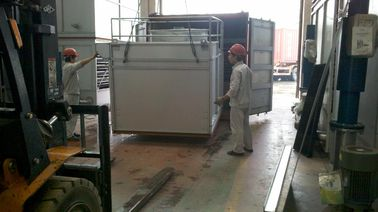 China Industrial Ammonia Evaporative Condenser With Schneider Brand Electrical Components supplier
