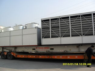 China Closed Loop Counterflow Cooling Tower , Industrial Water Cooling System supplier
