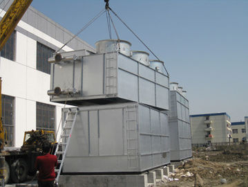 China Water Saving Open Loop Cooling Tower , Forced Draught Cooling Tower Belt Driven supplier