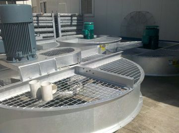 China Open Type FRP Induced Draft Cooling Tower With Alloy Aluminium Fan Blades supplier