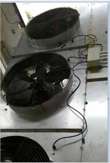High Performance Water Cooling Tower Fan Low Noise Corrosion