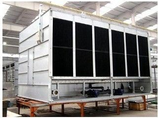China 380V 3P 50HZ Closed Cooling Tower With Anti Corrosion PVC Water Eliminator factory