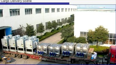 China High Efficiency Industrial Water Chiller With Siemens Spray Pump Control factory