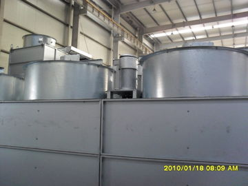 China Square Type Industrial Water Chiller With Alum - Zinc Galvanized Steel Plate Shell factory